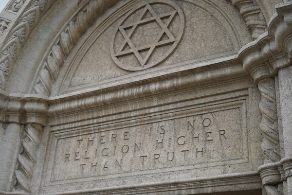 """There is no religion higher than truth"""